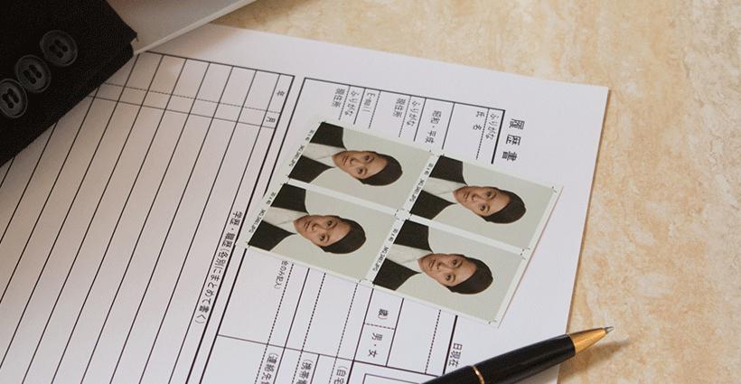 転職用の履歴書に貼る写真で好印象を残すには?ルールや注意点